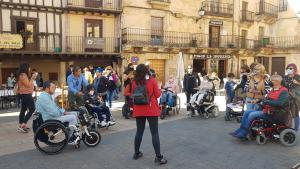 Sepúlveda y Pedraza, destinos de la última experiencia turística inclusiva de PREDIF