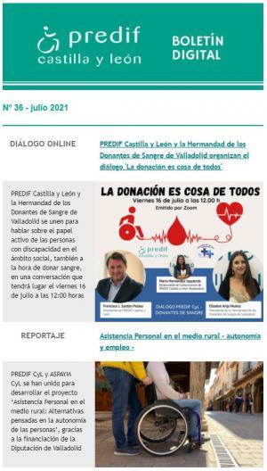 Boletín nº 36 - julio 2021