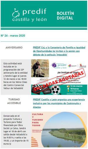 Boletín nº 24 - marzo 2020