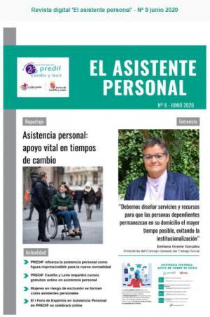 Boletín nº 8 revista digital 'EL ASISTENTE PERSONAL' - junio 2020