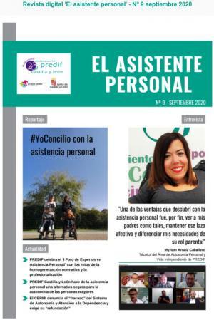 Boletín nº 9 revista digital 'EL ASISTENTE PERSONAL' - septiembre 2020