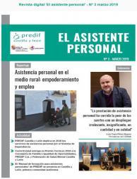 Boletín nº 3 revista digital 'EL ASISTENTE PERSONAL' - marzo 2019