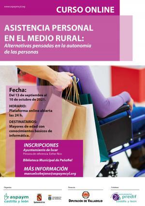 Los cursos del proyecto 'Asistencia personal en el medio rural' finalizan en Íscar y Peñafiel