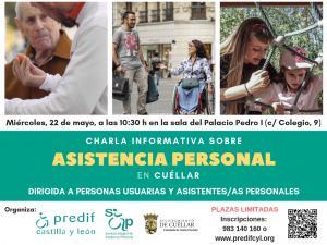 PREDIF CyL organiza en Cuéllar una charla sobre asistencia personal