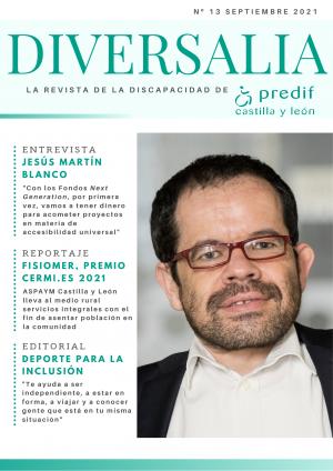 El último número de 'DIVERSALIA' dedica su reportaje a la historia del proyecto FISIOMER de ASPAYM CyL, premio CERMI.es 2021