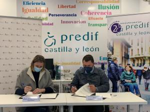 La Consejería de Familia e Igualdad de Oportunidades impulsa el Servicio Integral de Asistencia Personal de PREDIF CyL con 200.000 euros