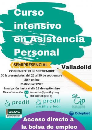 PREDIF CyL organiza una nueva formación semipresencial en asistencia personal para septiembre