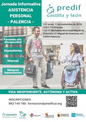PREDIF CyL organiza en Palencia una jornada informativa sobre asistencia personal