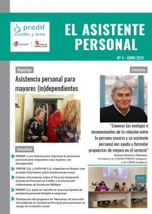 La asistencia personal para mayores, tema principal del último número de la revista 'El asistente personal'