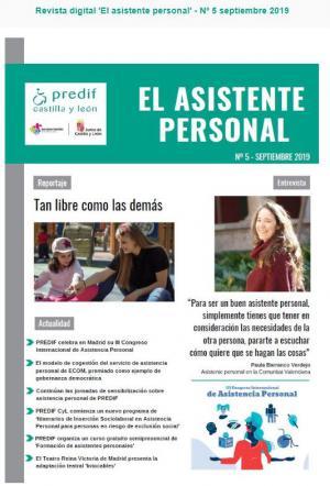 Boletín nº 5 revista digital 'EL ASISTENTE PERSONAL' - septiembre 2019