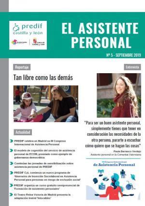 'Tan libre como las demás' - asistencia personal para menores, tema principal del último número de la revista 'El asistente personal'