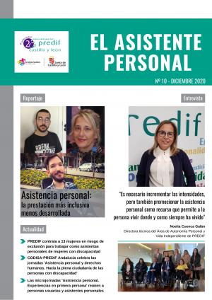 'Asistencia personal: la prestación más inclusiva menos desarrollada', tema central del número de diciembre de la revista 'El asistente personal'