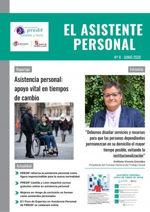 'Asistencia personal, apoyo vital en tiempos de cambio', tema central del número de junio de la revista 'El asistente personal'