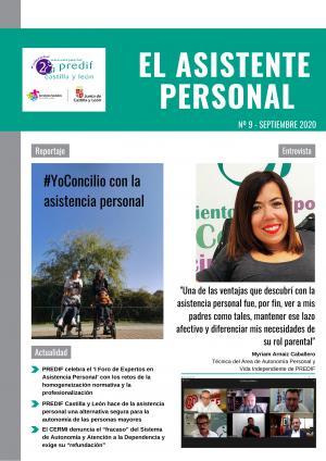 '#YoConcilio con la asistencia personal', tema central del número de septiembre de la revista 'El asistente personal'