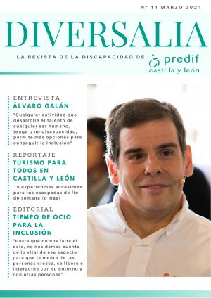 'DIVERSALIA', la renovada revista digital sobre discapacidad de PREDIF Castilla y León