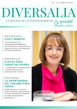 Boletín nº 12 revista digital 'DIVERSALIA' - junio 2021