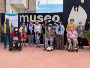Toro acoge la primera experiencia turística inclusiva en la provincia organizada por PREDIF