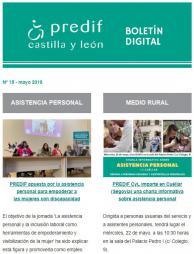 Boletín nº 15 - mayo 2019