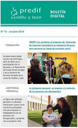 Boletín nº 19 - octubre 2019