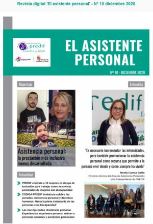 Boletín nº 10 revista digital 'EL ASISTENTE PERSONAL' - diciembre 2020