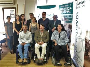 PREDIF CyL y ASPAYM CyL presentan en Ávila un nuevo curso de asistencia personal